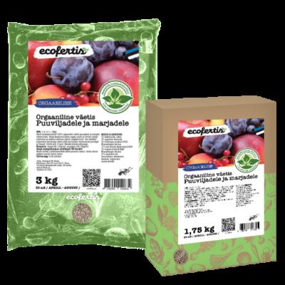Orgaaniline väetis puuviljadele ja marjadele