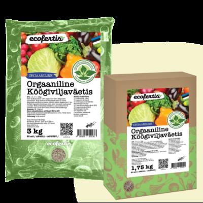 Orgaaniline väetis köögiviljadele