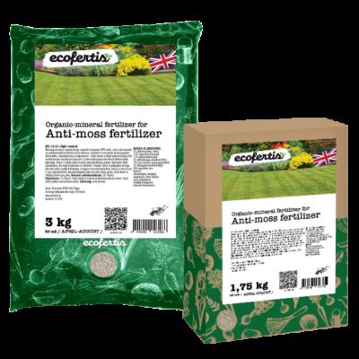 Organic-mineral Anti-moss fertilizer