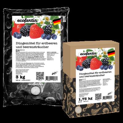 Düngemittel für erdbeeren und beerensträucher
