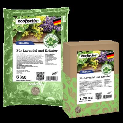 Für Lavendel und Kräuter