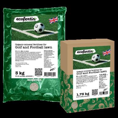 Organic-mineral Golf and Football lawn fertilizer