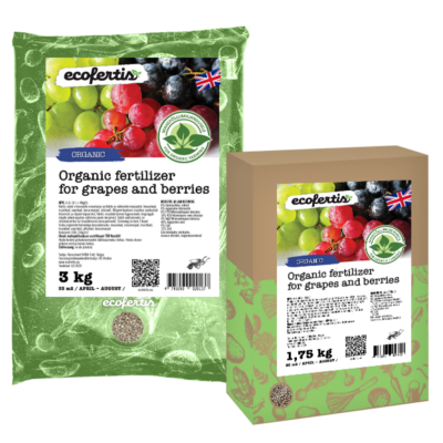 Organic fertilizer for grapes and berries