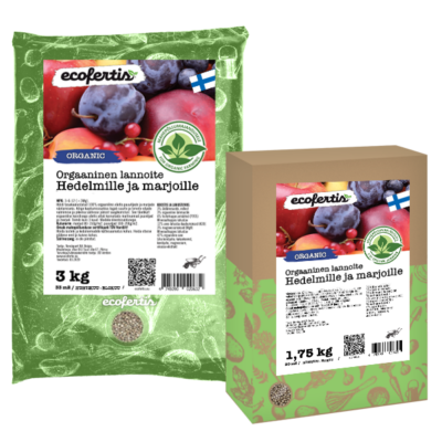 Orgaaninen lannoite hedelmille ja marjoille