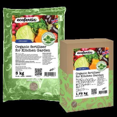 Organic fertiliser for Kitchen Garden