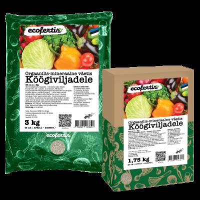 Orgaanilis-mineraalne väetis köögiviljadele