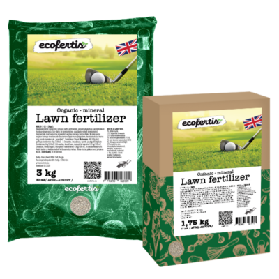 Organic – mineral Lawn fertilizer