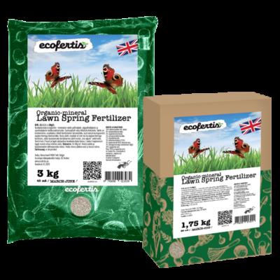 Organic-mineral Lawn Spring Fertilizer