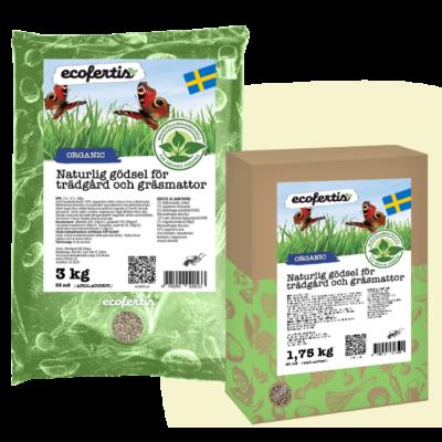 Naturlig gödsel för trädgård och gräsmattor