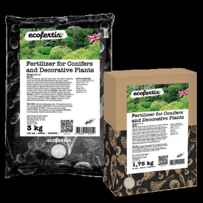 Fertilizer for Conifers and Decorative Plants