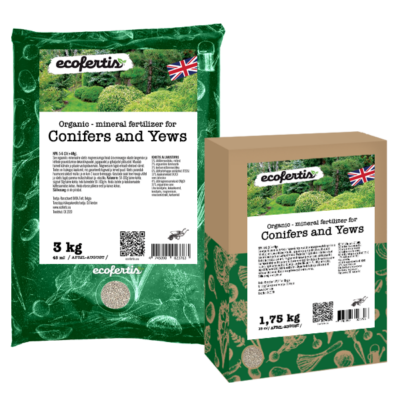 Organic – mineral fertilizer for Conifers and Yews