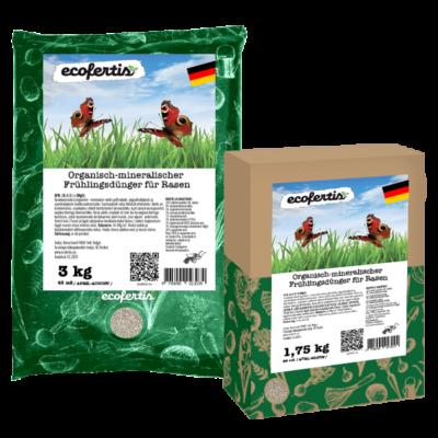 Organisch-mineralischer Frühlingsdünger für Rasen