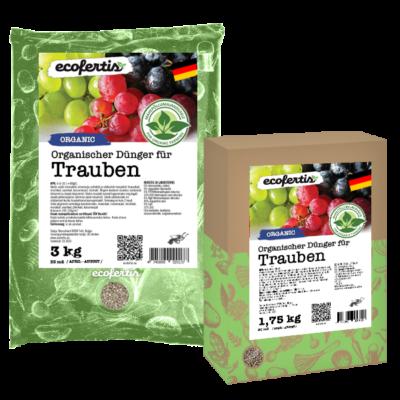Organischer Dünger für Trauben
