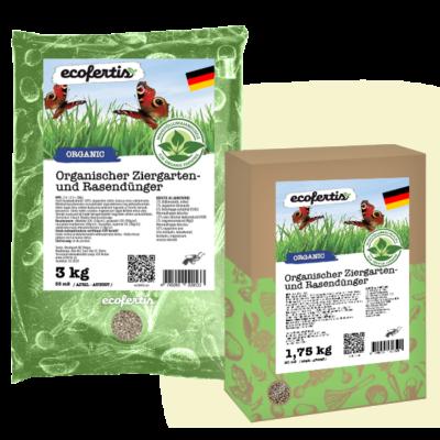Organischer Ziergarten- und Rasendünger