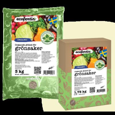 Organisk gödsel för grönsaker