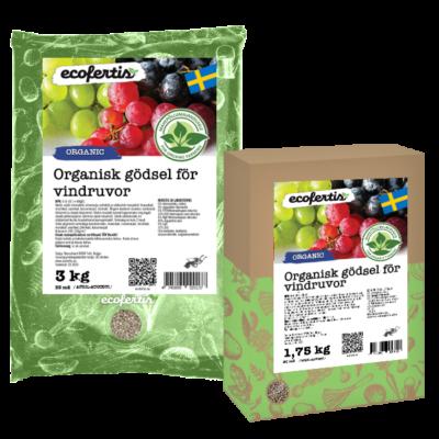 Organisk gödsel för vindruvor
