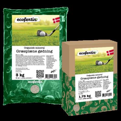 Organisk-mineral græsplæne gødning