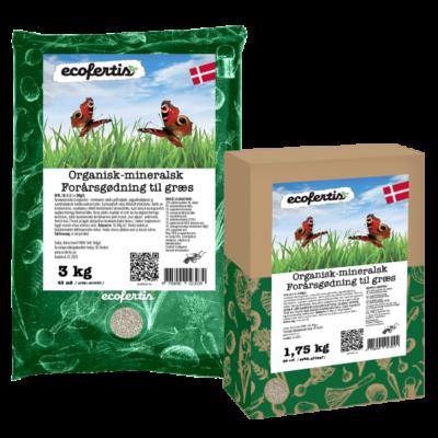 Organisk-mineralsk forårsgødning til græs