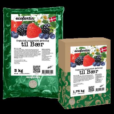 Organisk-mineralsk gødning til bær