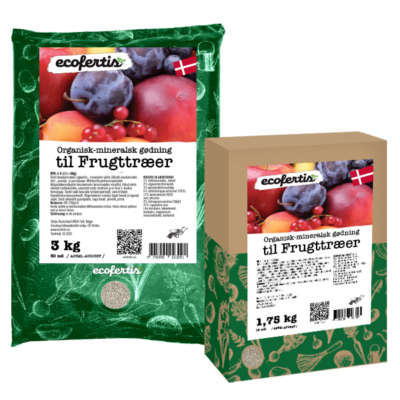 Organisk-mineralsk gødning til frugttræer