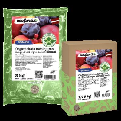 Organiskais mēslojums augļu un ogu audzēšanai