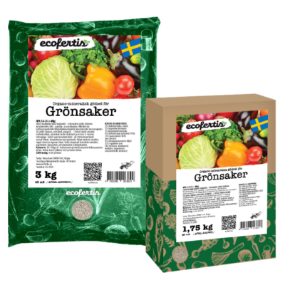 Organo-mineralisk gödsel för grönsaker
