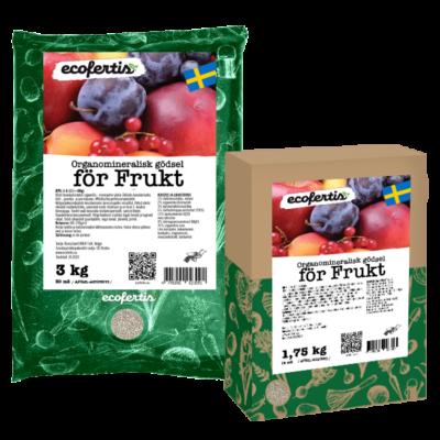 Organomineralisk gödsel för frukt