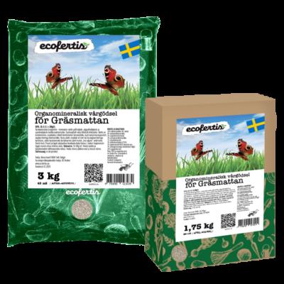 Organomineralisk vårgödsel för gräsmattan
