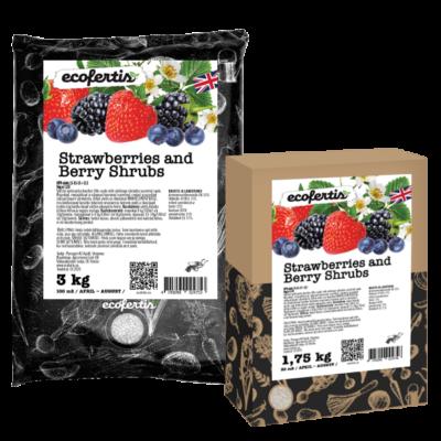 Strawberries and Berry Shrubs