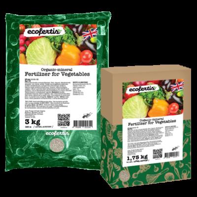 Organic-mineral fertilizer for Vegetables