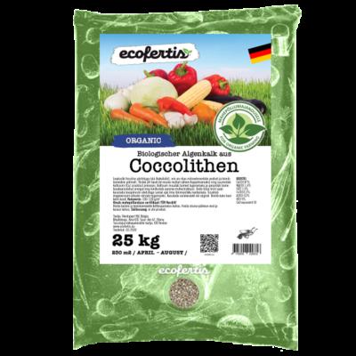 Biologischer Algenkalk aus Coccolithen