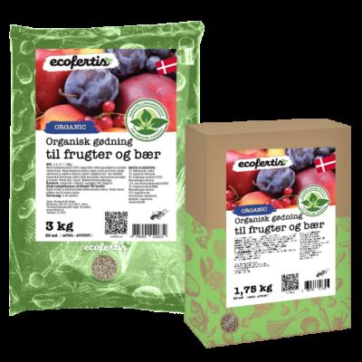 Organisk gødning til frugter og bær