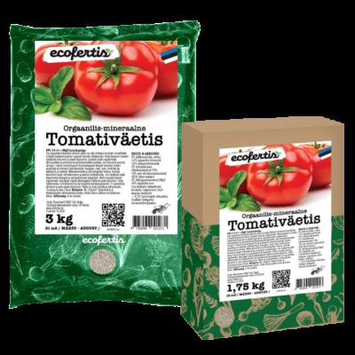 Orgaanilis – mineraalne tomativäetis