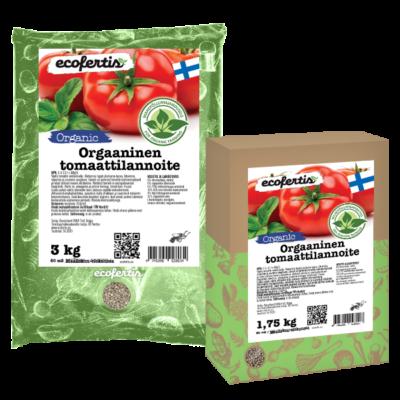 Orgaaninen tomaattilannoite