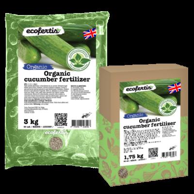 Organic cucumber fertilizer