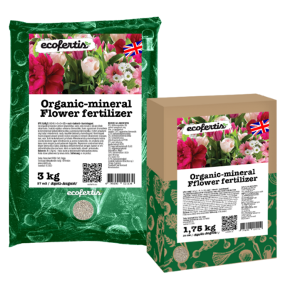 Organic-mineral flower fertilizer