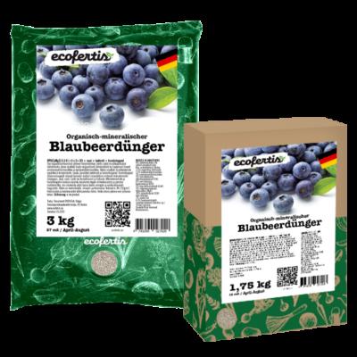 Organisch-mineralischer Blaubeerdünger