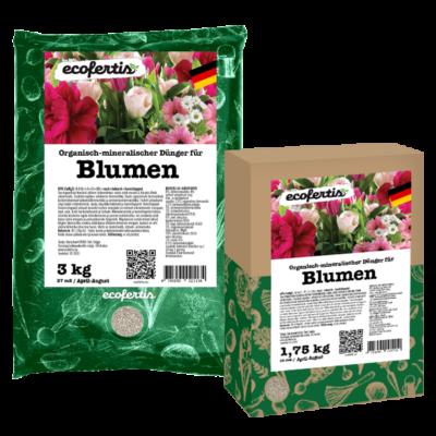 Organisch-mineralischer Dünger für Blumen