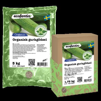 Organisk gurkgödsel
