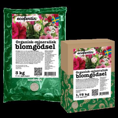 Organisk-mineralisk blomgödsel