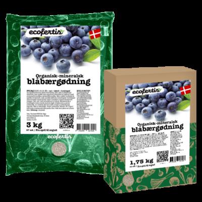 Organisk-mineralsk blåbærgødning