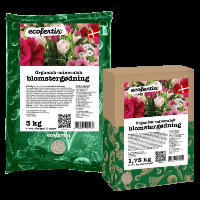 Organisk-mineralsk blomstergødning