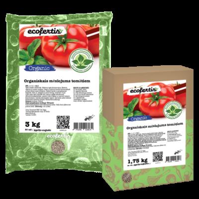 Organiskais mēslojums tomātiem