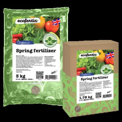 Organic spring fertilizer
