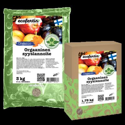 Orgaaninen syyslannoite