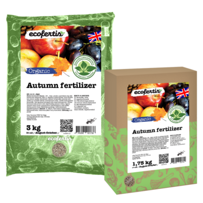 Organic Autumn fertilizer