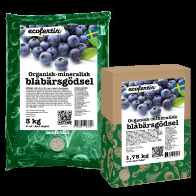 Organisk-mineralisk blåbärsgödsel