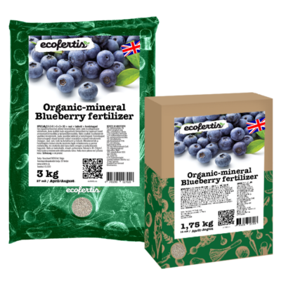 Organic-mineral blueberry fertilizer