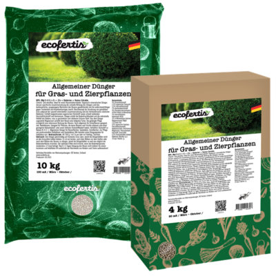 Allgemeiner Dünger für Gras- und Zierpflanzen