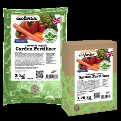 Universal  organic garden fertilizer